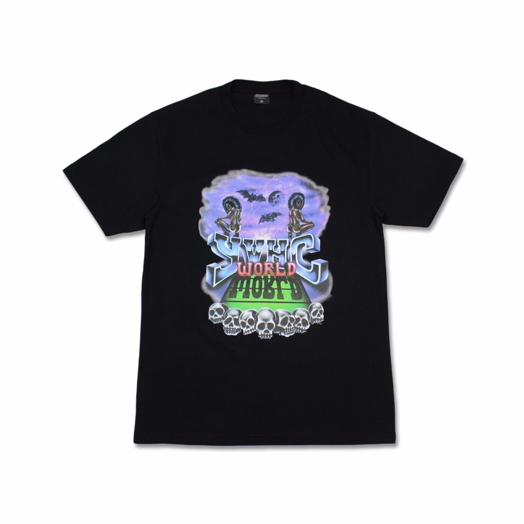YVHC WORLD TEE BLACK
