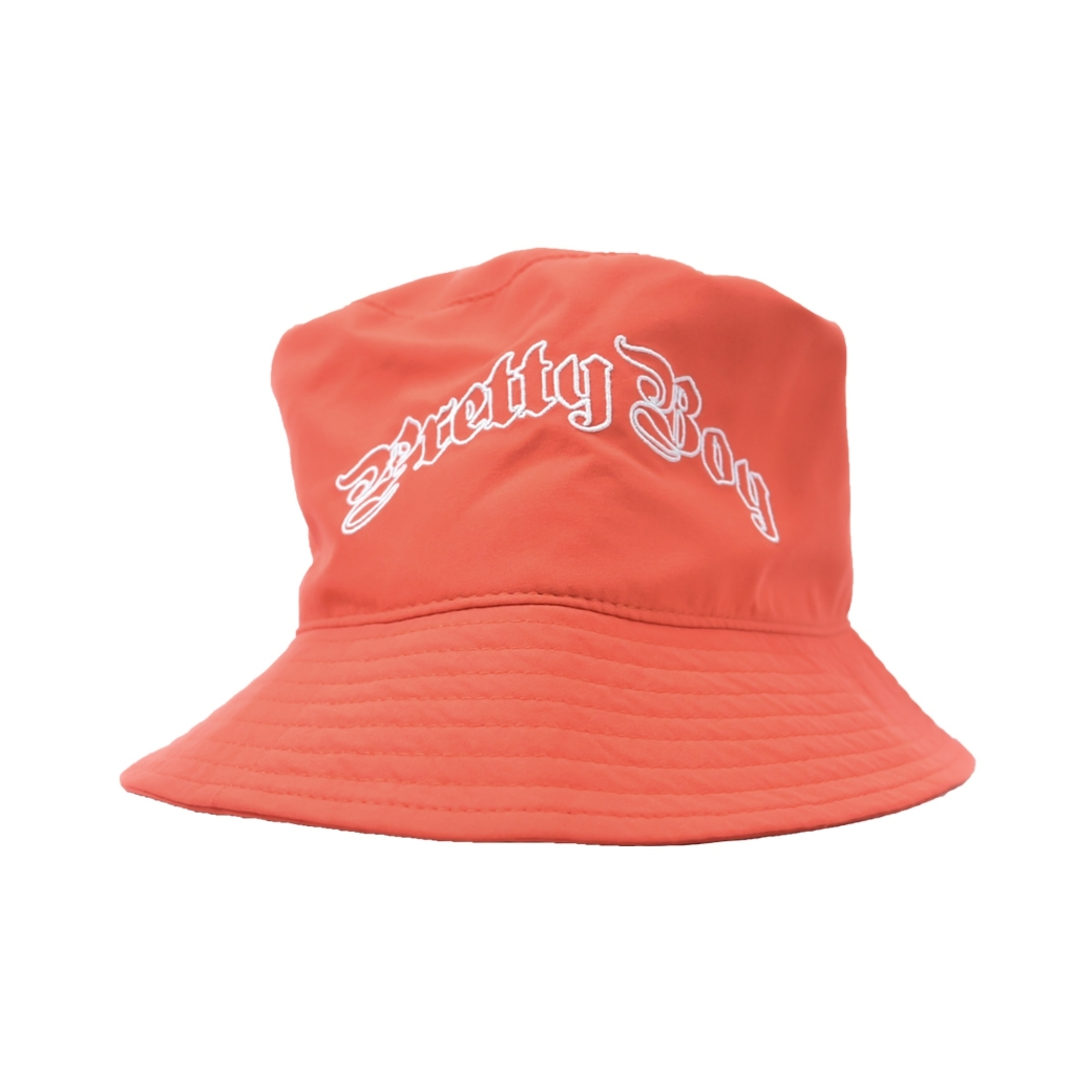 PRETTYBOYGEAR BUCKET HAT ORANGE