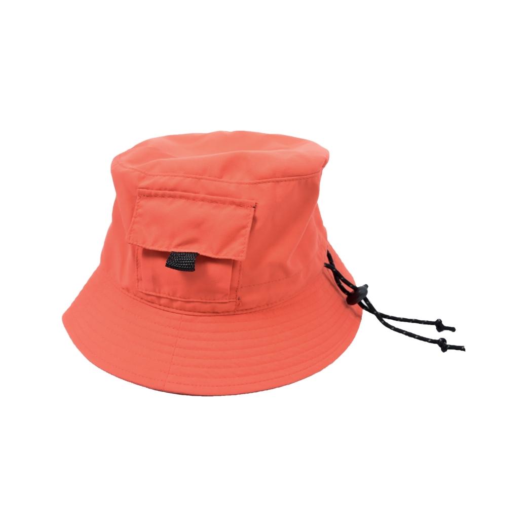 PRETTYBOYGEAR BUCKET HAT ORANGE