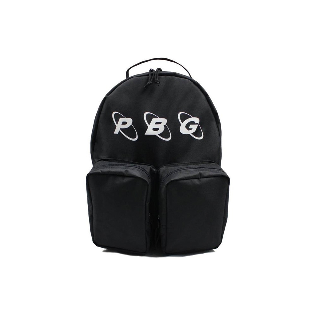 PRETTYBOYGEAR LOGO BACKPACK BLACK