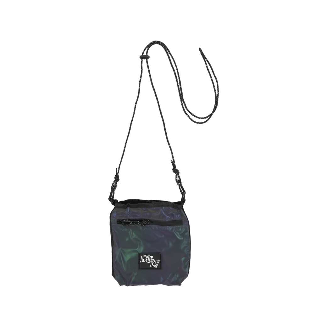 PRETTYBOYGEAR DOUBLE RING RAINBOW BAG