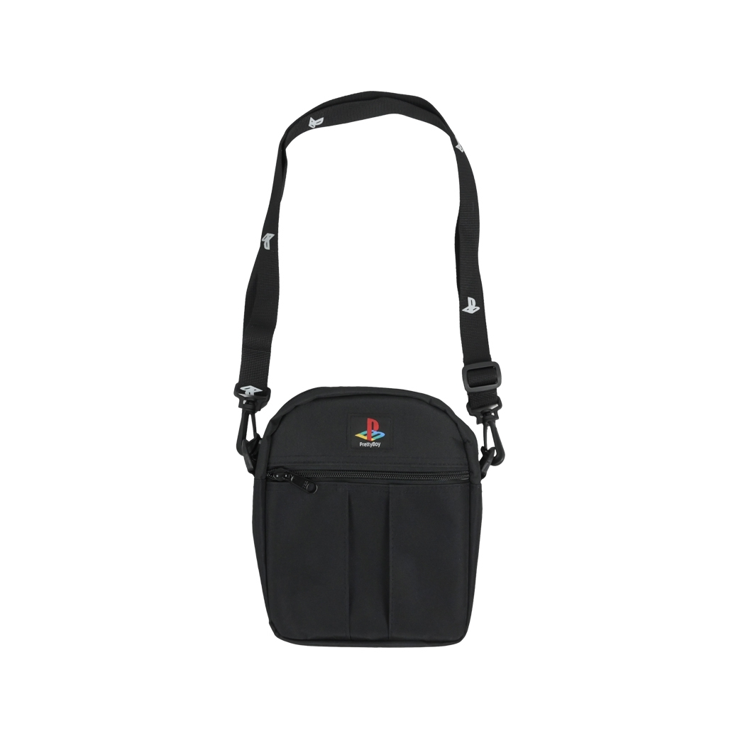 PRETTYBOYGEAR MINI MESSENGER BAG BLACK