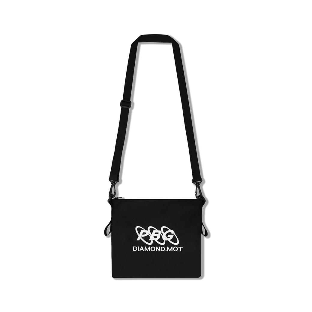 PRETTYBOYGEAR X DIAMOND MQT T-SHIRT BAG BLACK